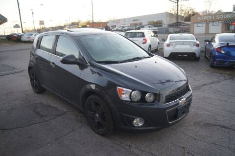 2014 Chevrolet Sonic for sale at Green Ride Inc in Nashville TN
