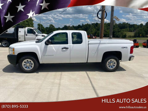 2012 Chevrolet Silverado 1500 for sale at Hills Auto Sales in Salem AR