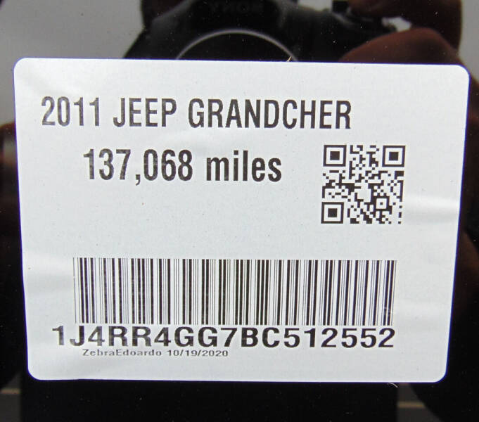 2011 Jeep Grand Cherokee 4x4 Laredo 4dr SUV - Waterbury CT