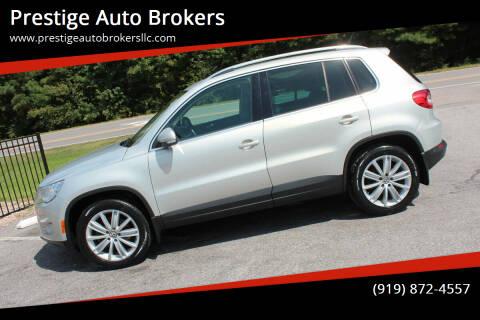 2011 Volkswagen Tiguan for sale at Prestige Auto Brokers in Raleigh NC