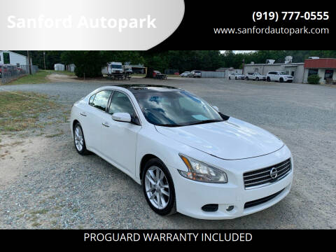 2011 Nissan Maxima for sale at Sanford Autopark in Sanford NC