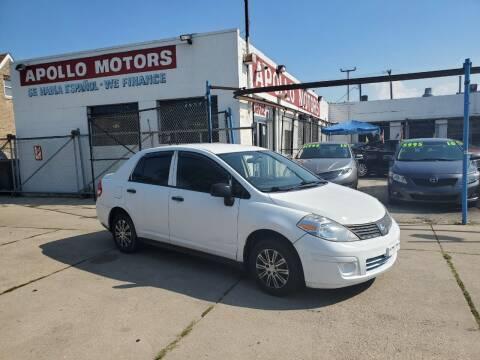 2010 Nissan Versa for sale at Apollo Motors INC in Chicago IL