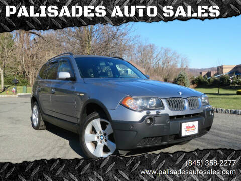 2004 BMW X3 for sale at PALISADES AUTO SALES in Nyack NY