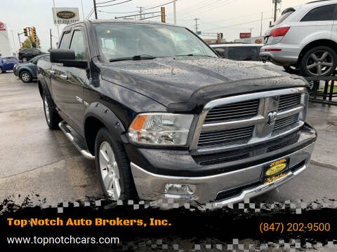 2010 Dodge Ram Pickup 1500 for sale at Top Notch Auto Brokers, Inc. in Palatine IL
