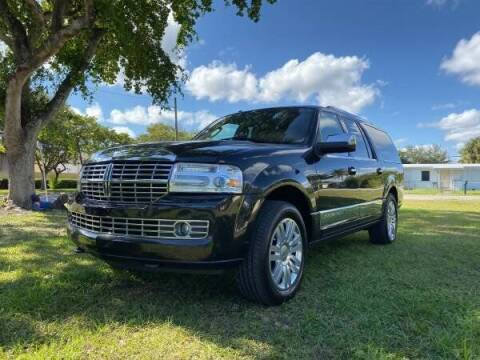 2014 Lincoln Navigator L for sale at Transcontinental Car USA Corp in Fort Lauderdale FL