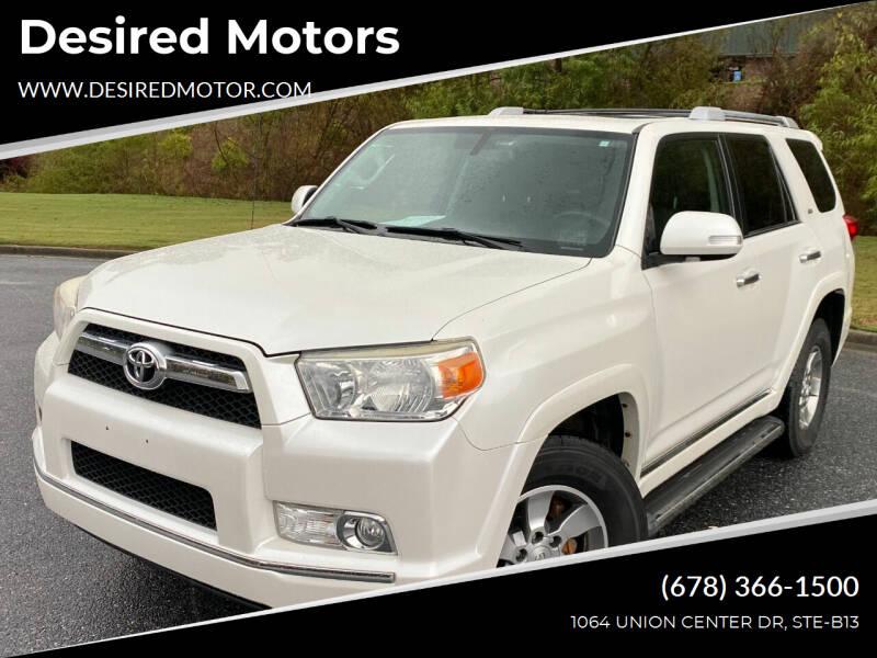 2011 Toyota 4Runner for sale at Desired Motors in Alpharetta GA