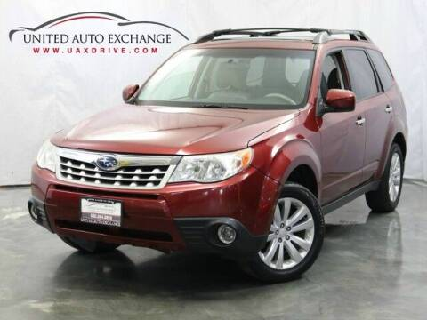 2013 Subaru Forester for sale at United Auto Exchange in Addison IL