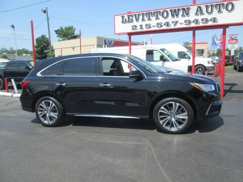 2019 Acura MDX for sale at Levittown Auto in Levittown PA