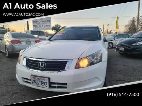 2010 Honda Accord for sale at A1 Auto Sales in Sacramento CA