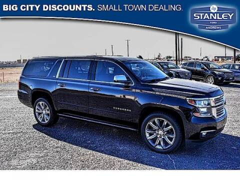 2016 Chevrolet Suburban for sale at STANLEY FORD ANDREWS in Andrews TX