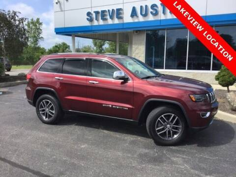 2017 Jeep Grand Cherokee for sale at Austins At The Lake in Lakeview OH