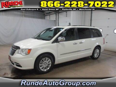 2012 Chrysler Town and Country for sale at Runde Chevrolet in East Dubuque IL