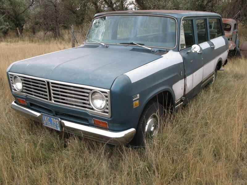 1973 International 1010 Travel all for sale at MOPAR Farm - MT to Un-Restored in Stevensville MT