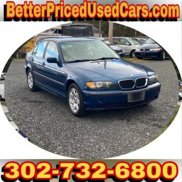 2002 BMW 3 Series for sale at Better Priced Used Cars in Frankford DE