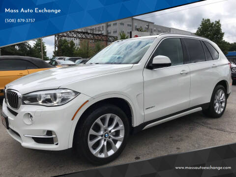 2014 BMW X5 for sale at Mass Auto Exchange in Framingham MA