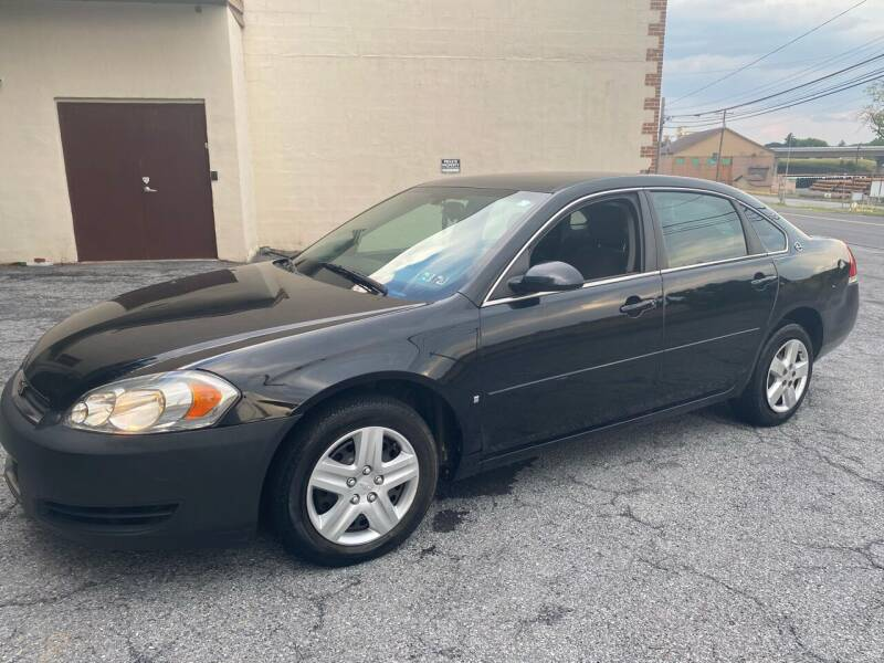2008 Chevrolet Impala for sale at YASSE'S AUTO SALES in Steelton PA