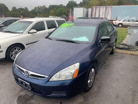 2006 Honda Accord for sale at Wheel'n & Deal'n in Lenoir NC