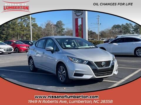 2020 Nissan Versa for sale at Nissan of Lumberton in Lumberton NC