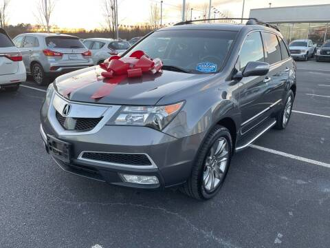 2012 Acura MDX for sale at Charlotte Auto Group, Inc in Monroe NC
