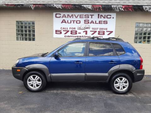 2008 Hyundai Tucson for sale at Camvest Inc. Auto Sales in Depew NY
