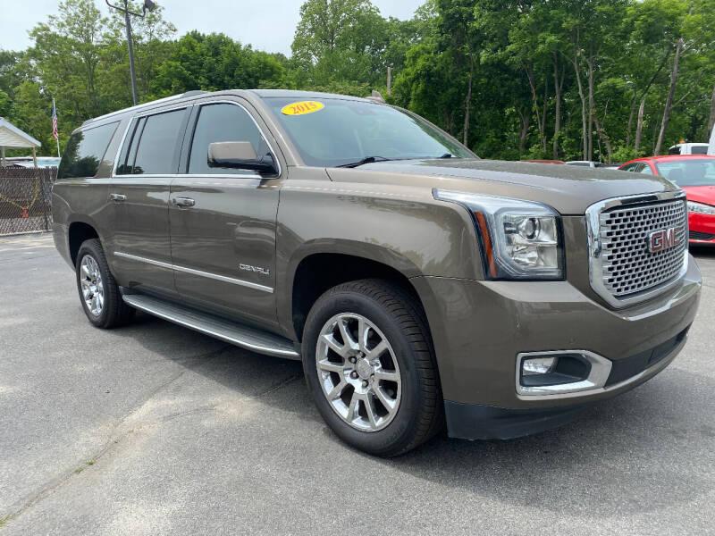2015 GMC Yukon XL for sale at The Car Lot Inc in Cranston RI
