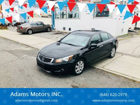 2009 Honda Accord for sale at Adams Motors INC. in Inwood NY
