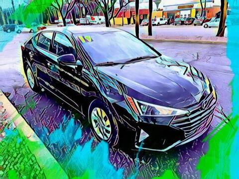 2019 Hyundai Elantra for sale at Del Sol Auto Mart in Des Plaines IL