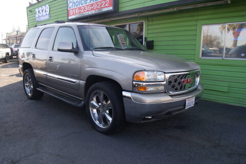 2001 GMC Yukon for sale at Amazing Choice Autos in Sacramento CA