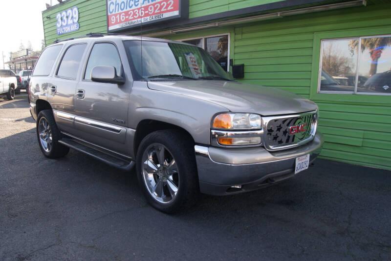 2001 GMC Yukon for sale at Amazing Choice Autos in Sacramento CA