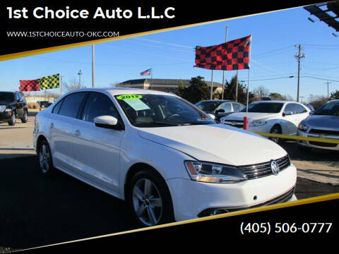 2012 Volkswagen Jetta for sale at 1st Choice Auto L.L.C in Oklahoma City OK