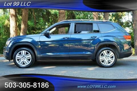 2019 Volkswagen Atlas for sale at LOT 99 LLC in Milwaukie OR