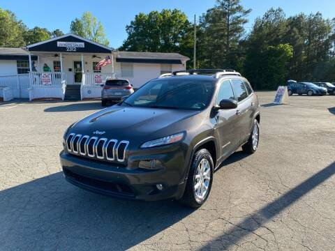 2014 Jeep Cherokee for sale at CVC AUTO SALES in Durham NC