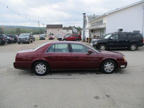 2000 Cadillac DeVille for sale at ROUTE 119 AUTO SALES & SVC in Homer City PA