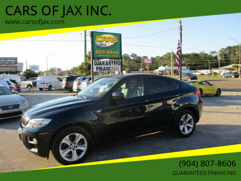 2014 BMW X6 for sale at CARS OF JAX INC. in Jacksonville FL