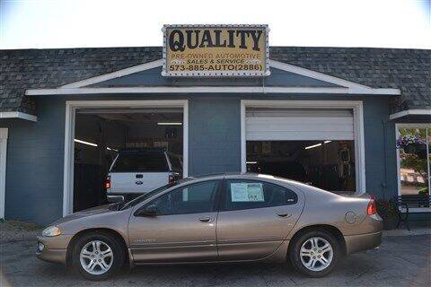 2000 Dodge Intrepid for sale at Quality Pre-Owned Automotive in Cuba MO