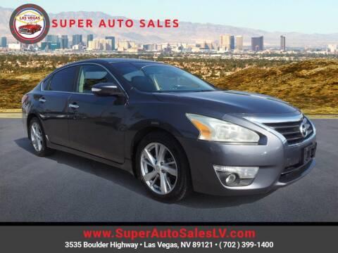 2013 Nissan Altima for sale at Super Auto Sales in Las Vegas NV