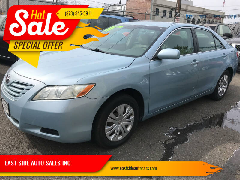 2009 Toyota Camry for sale at EAST SIDE AUTO SALES INC in Paterson NJ