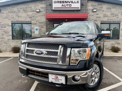 2012 Ford F-150 for sale at GREENVILLE AUTO in Greenville WI