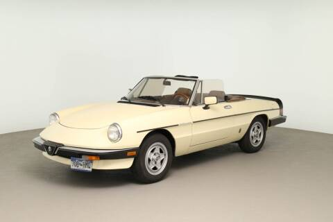 1984 Alfa Romeo Spider for sale at At My Garage Motors in Arvada CO