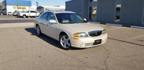 2002 Lincoln LS for sale at EXPRESS AUTO GROUP in Phoenix AZ