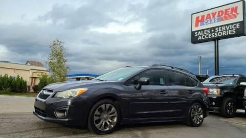 2012 Subaru Impreza for sale at Hayden Cars in Coeur D Alene ID