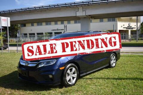 2019 Honda Odyssey for sale at ELITE MOTOR CARS OF MIAMI in Miami FL