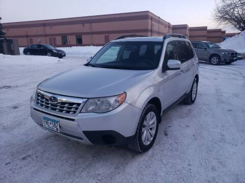 2011 Subaru Forester for sale at Fleet Automotive LLC in Maplewood MN