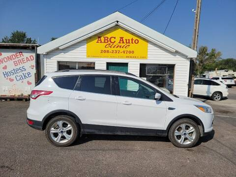 2014 Ford Escape for sale at ABC AUTO CLINIC in Chubbuck ID