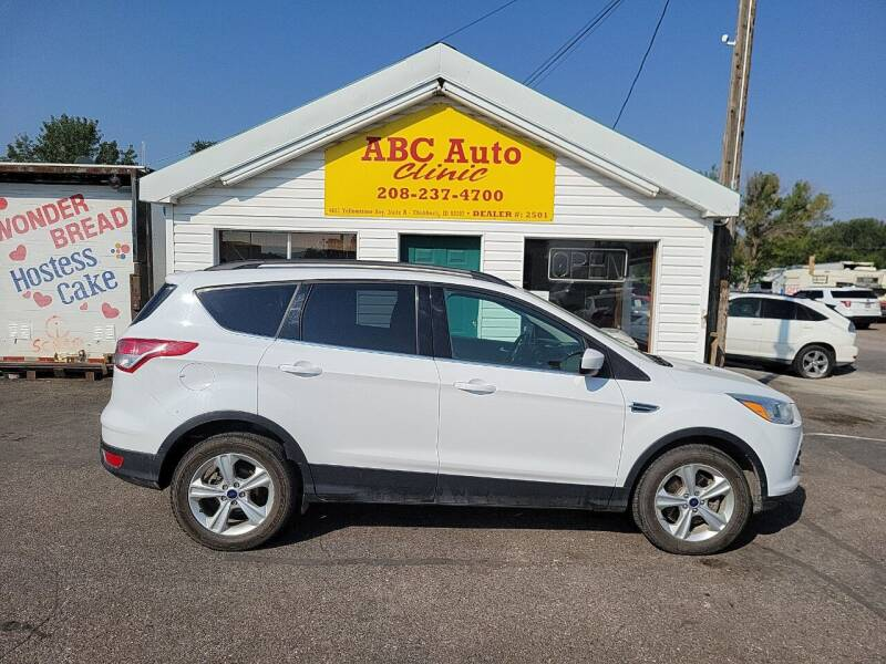 2014 Ford Escape for sale at ABC AUTO CLINIC CHUBBUCK in Chubbuck ID
