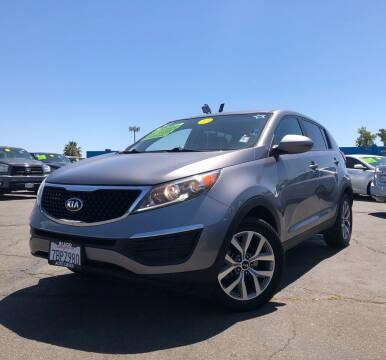 2014 Kia Sportage for sale at LUGO AUTO GROUP in Sacramento CA