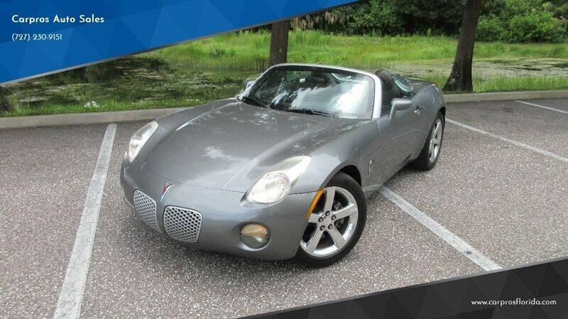 2006 Pontiac Solstice for sale at Carpros Auto Sales in Largo FL