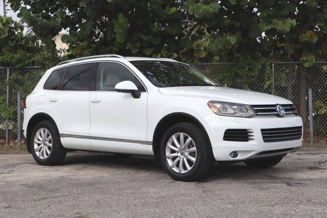 2012 Volkswagen Touareg for sale at No 1 Auto Sales in Hollywood FL