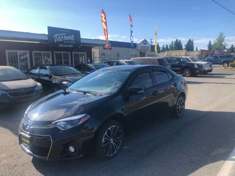 2015 Toyota Corolla for sale at Tacoma Autos LLC in Tacoma WA