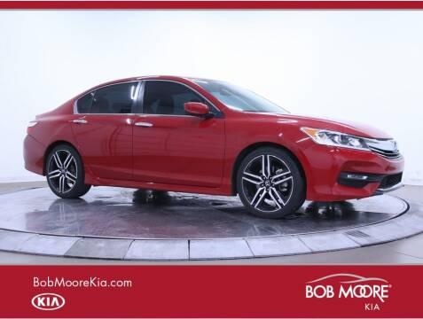 2017 Honda Accord for sale at Bob Moore Kia in Oklahoma City OK